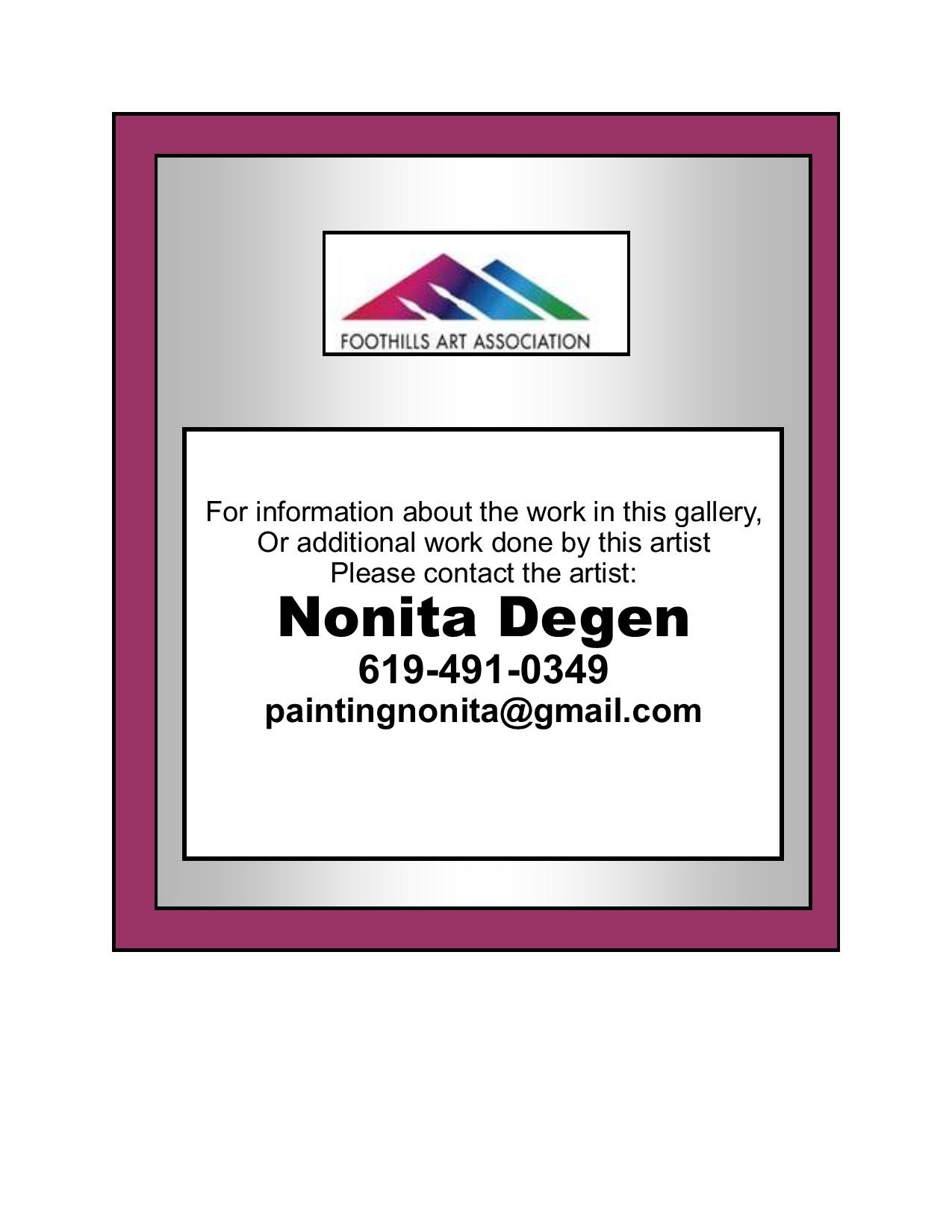 Nonita Degen Contact