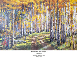 Road thru the Aspens - Glenn Osga