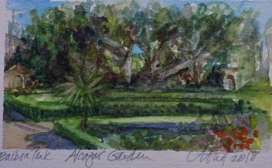 Alcazar Gardens - Arnot