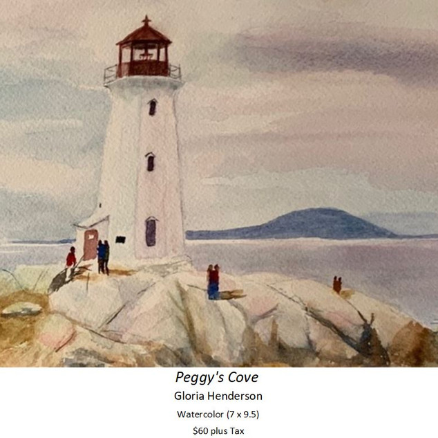 Peggy's Cove - Gloria Henderson - Waterc