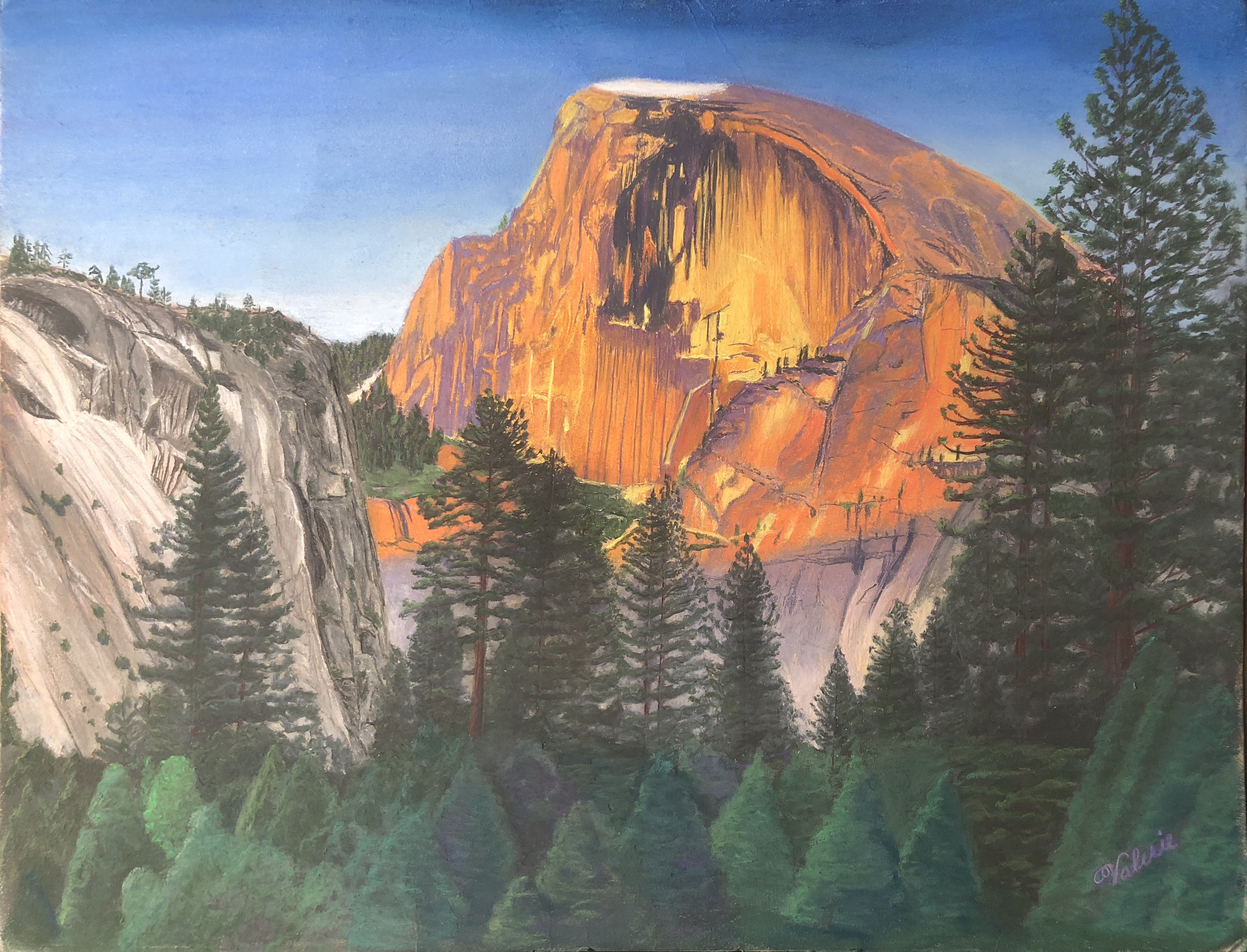 Glowing Half Dome - Grischy