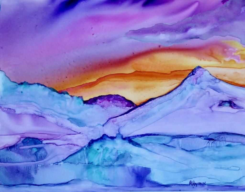 Arctic Sunset - Sisk