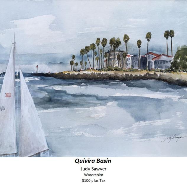 Quivira Basin - Judy Sawyer - Watercolor