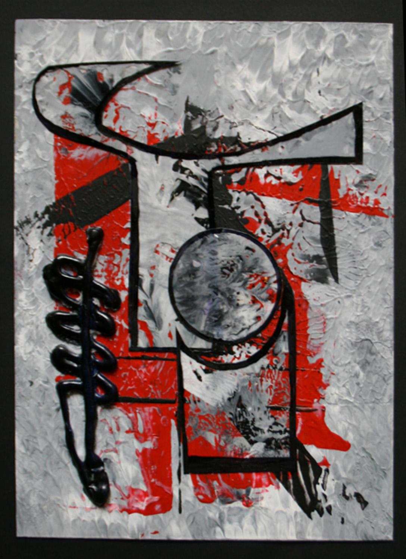 ART DECO REVISITS collage Susan Strong M