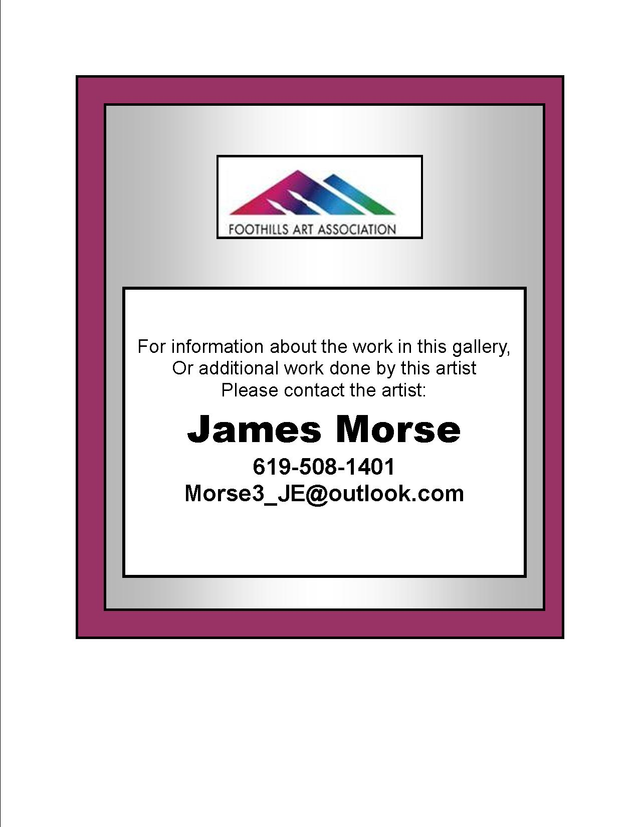 James Morse - Info
