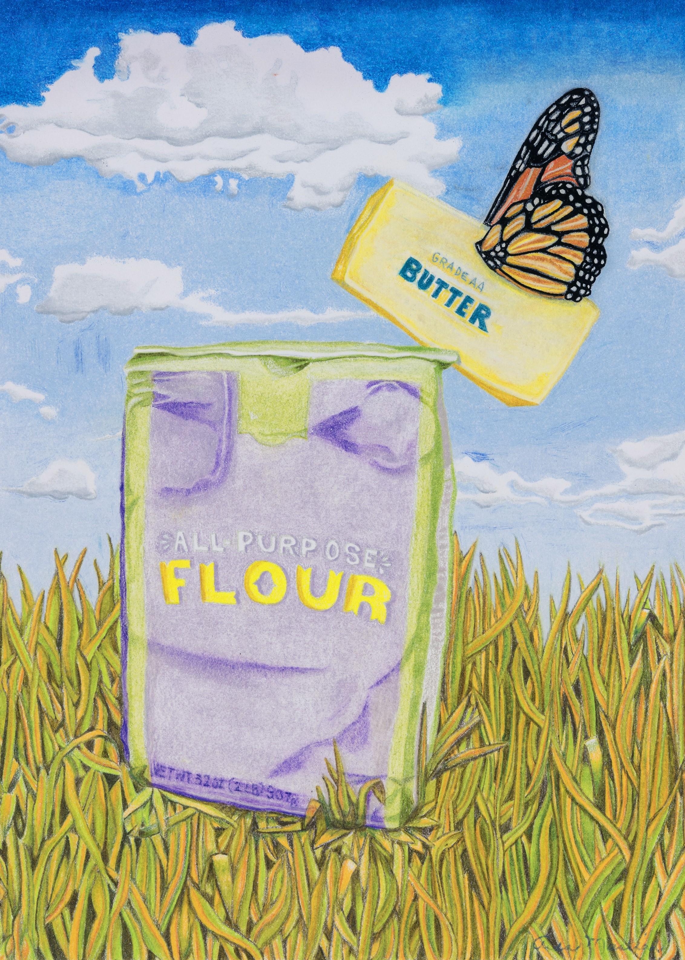 Butter Fly on Flour- Masliah