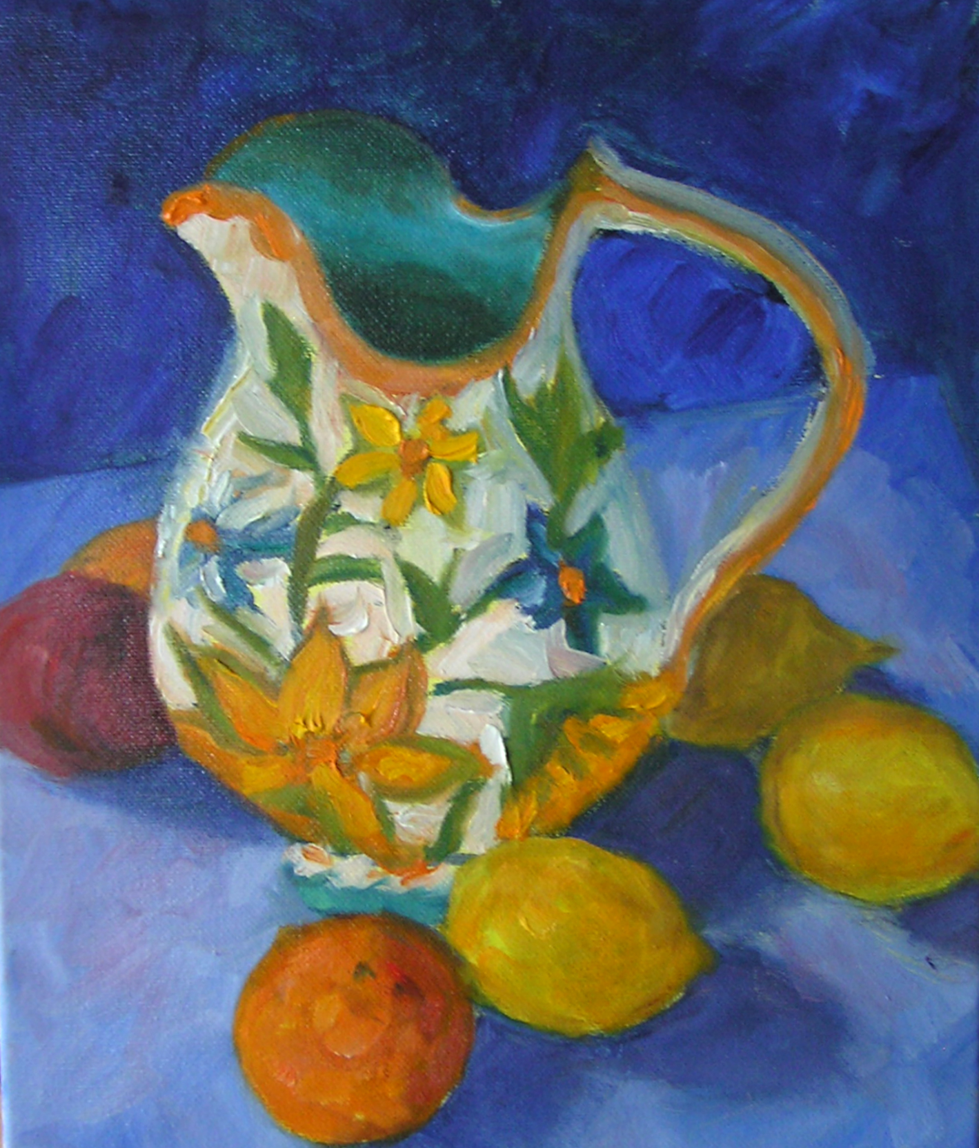 Pitcher and Lemons - Jarrett
