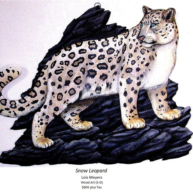 Snow Leopard - Lois Meyers