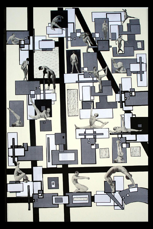 Dance      Collage  Susan Strong Muir