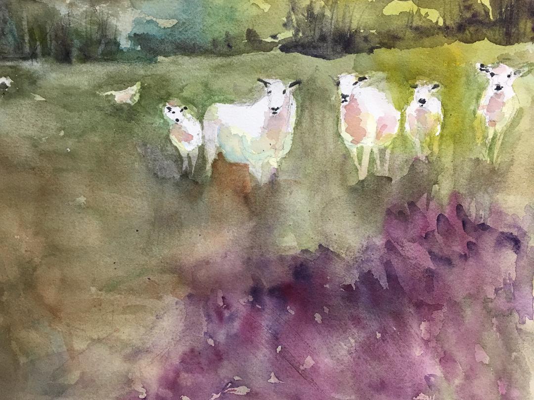 Green Pastures - Scriba