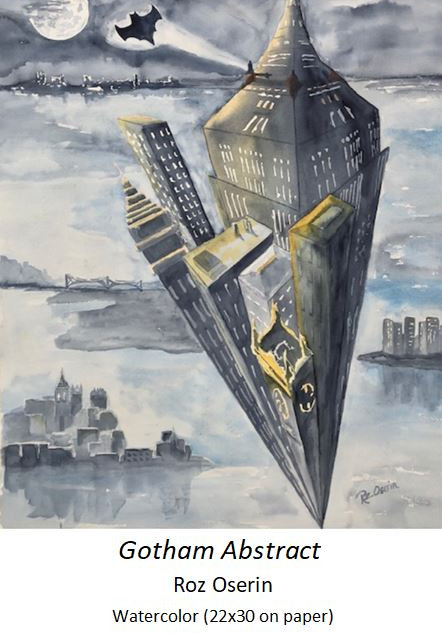 Gotham Abstract - Roz Oserin