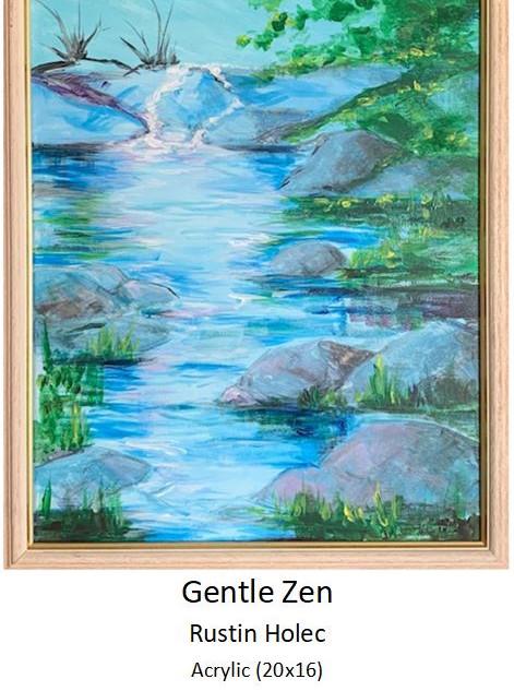 Gentle Zen - Rustin Holec