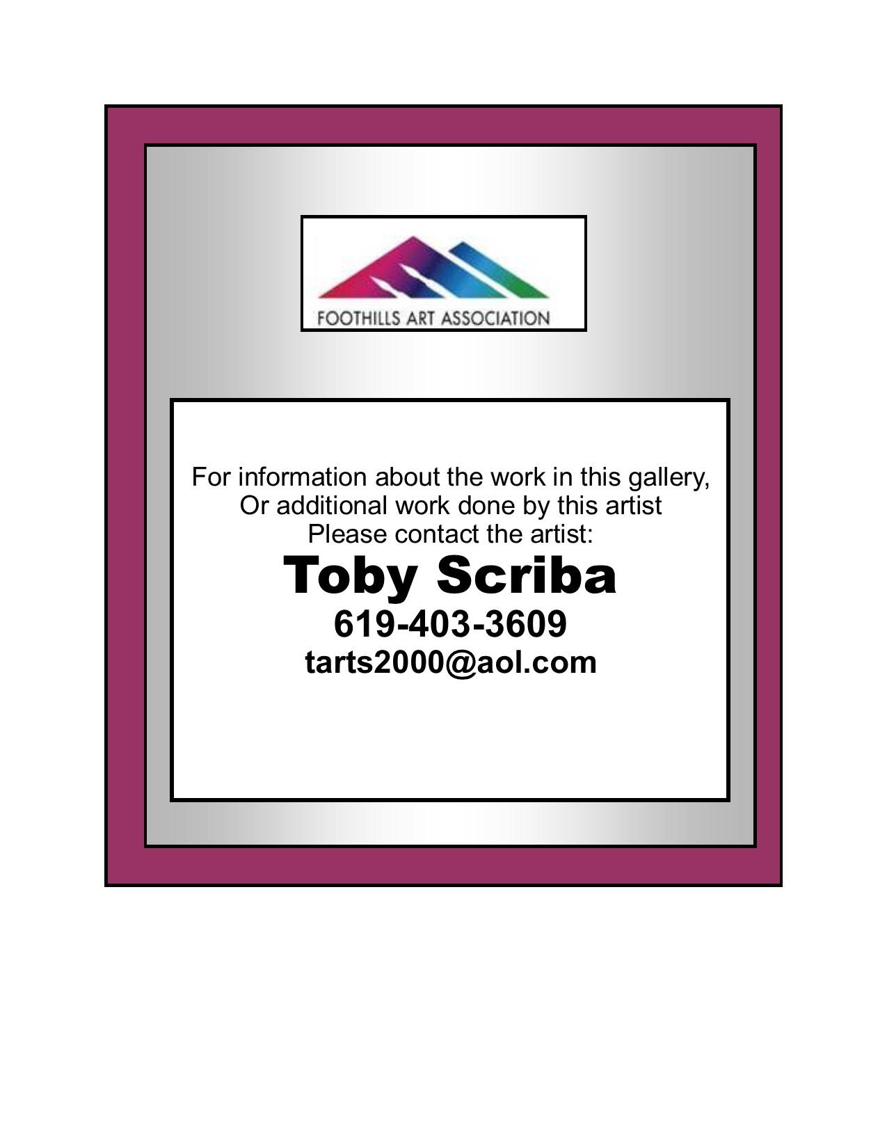 Toby Scriba