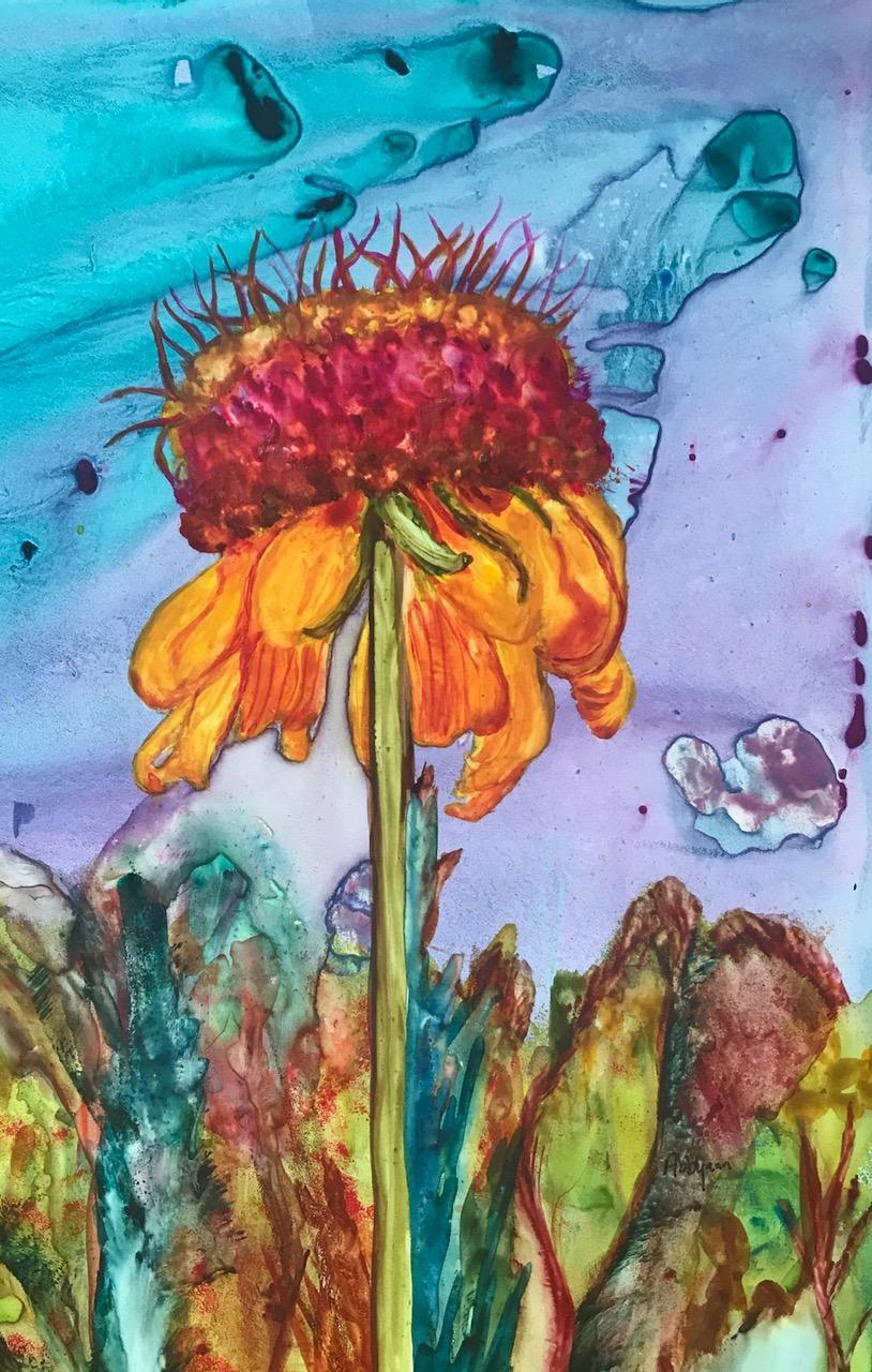 Exotic Sunflower II - Sisk
