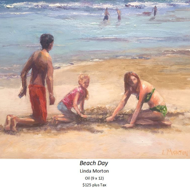 Beach Day - Linda Morton