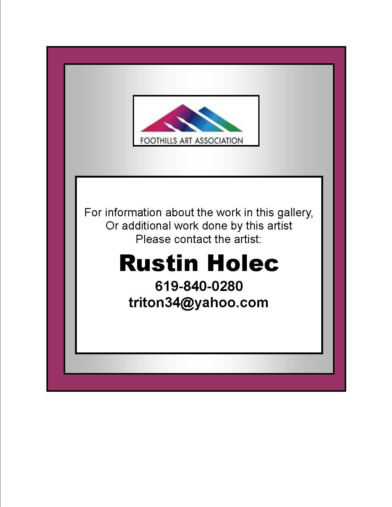 Rustin Holec