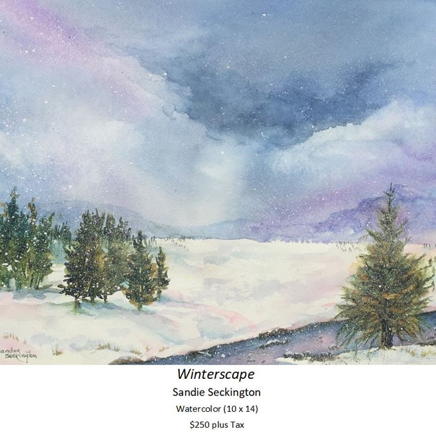 Winterscape - Sandie Seckington