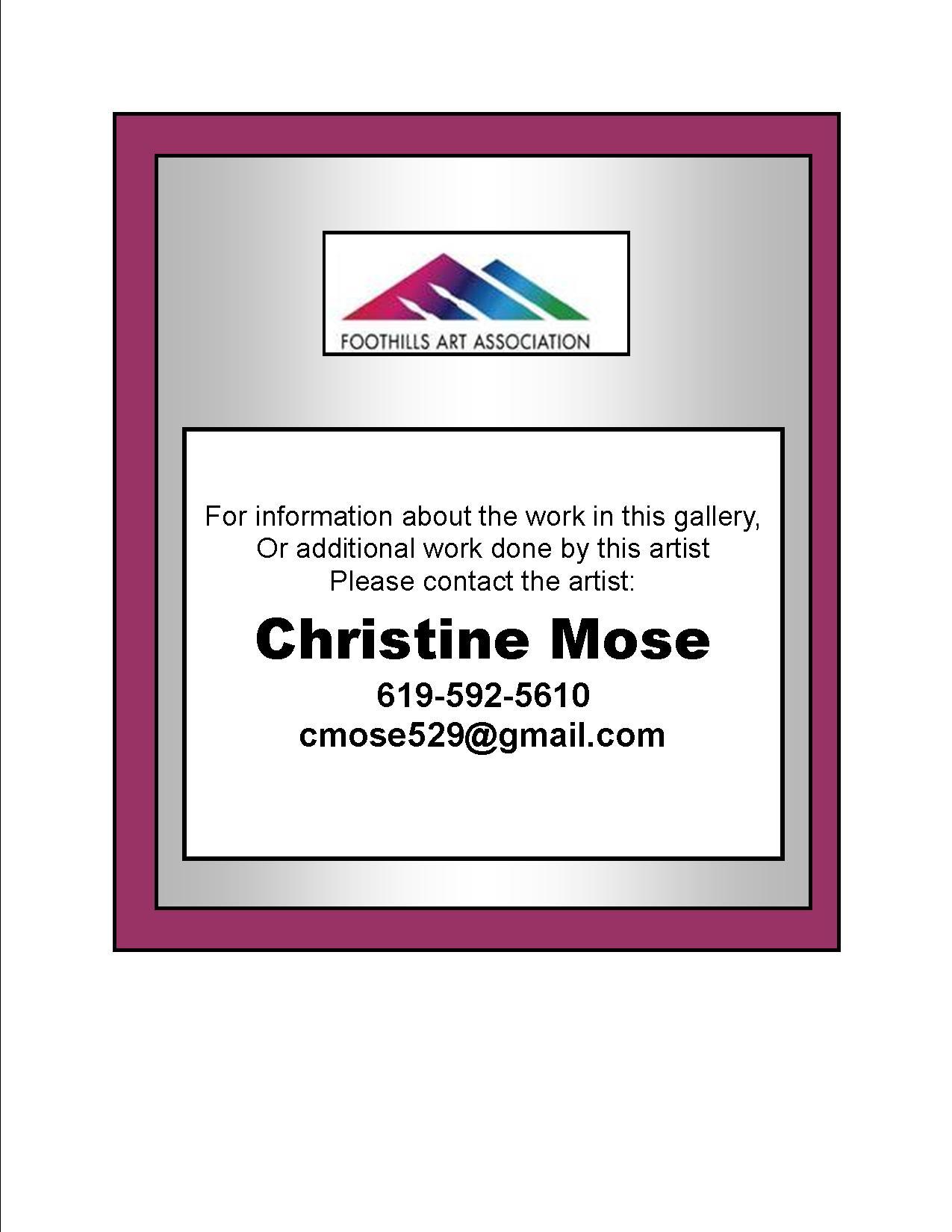 Christine Mose