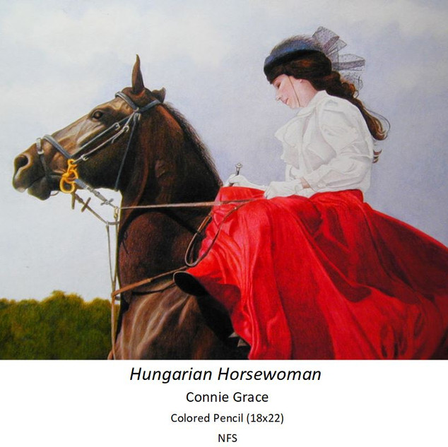 Hungarian Horsewoman - Connie Grace