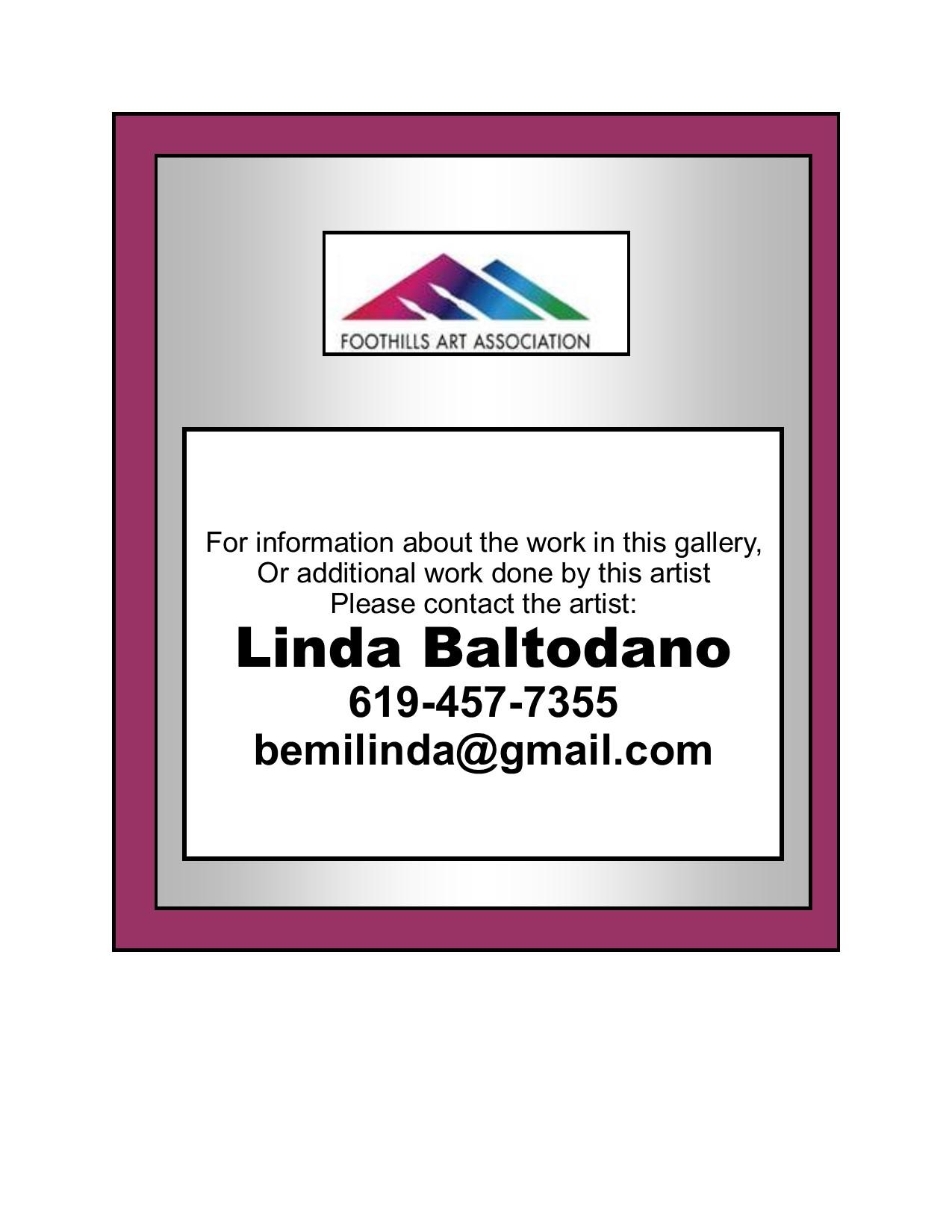 Linda Baltodano - Contacts