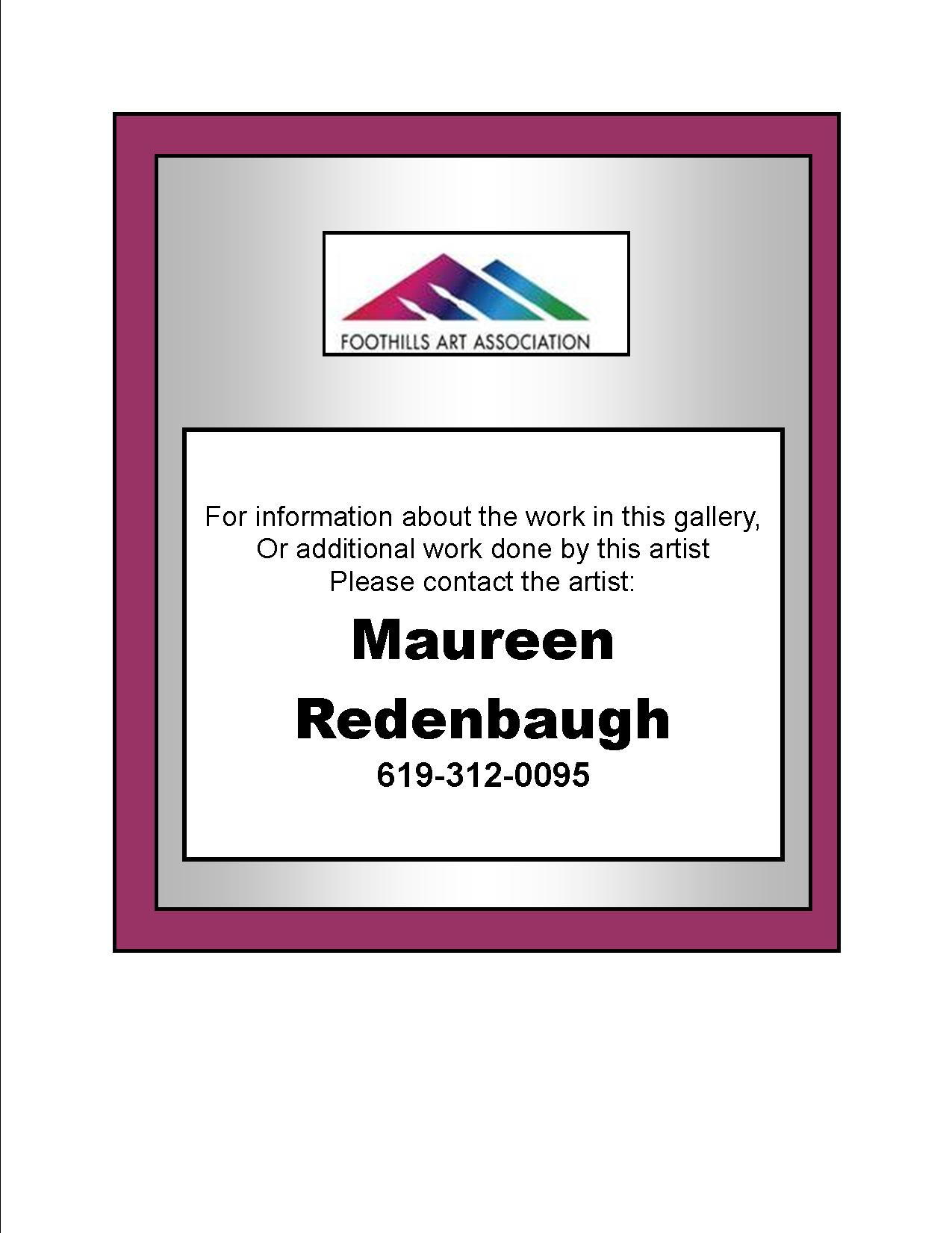 Maureen Redenbaugh