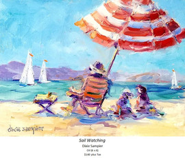 Sail Watching - Dixie Sampier