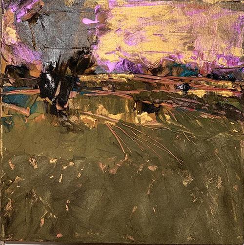 Gold Landscape - Bebi