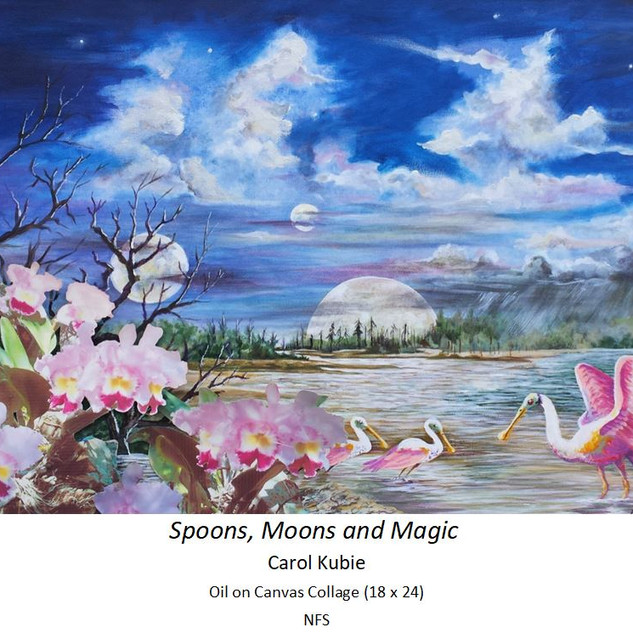 Spoons, Moons and Magic - Carol Kubie