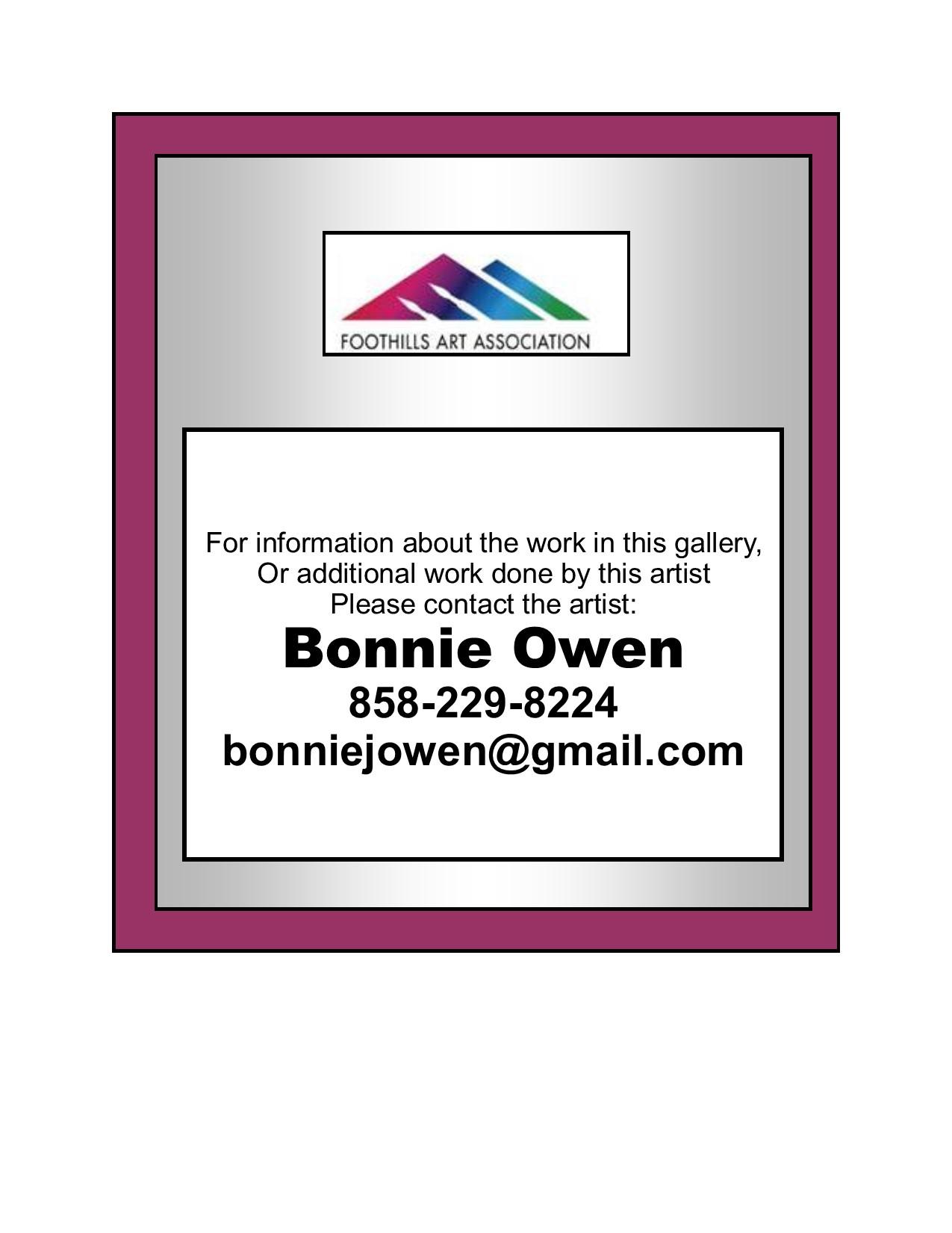 Owen - Contact Info