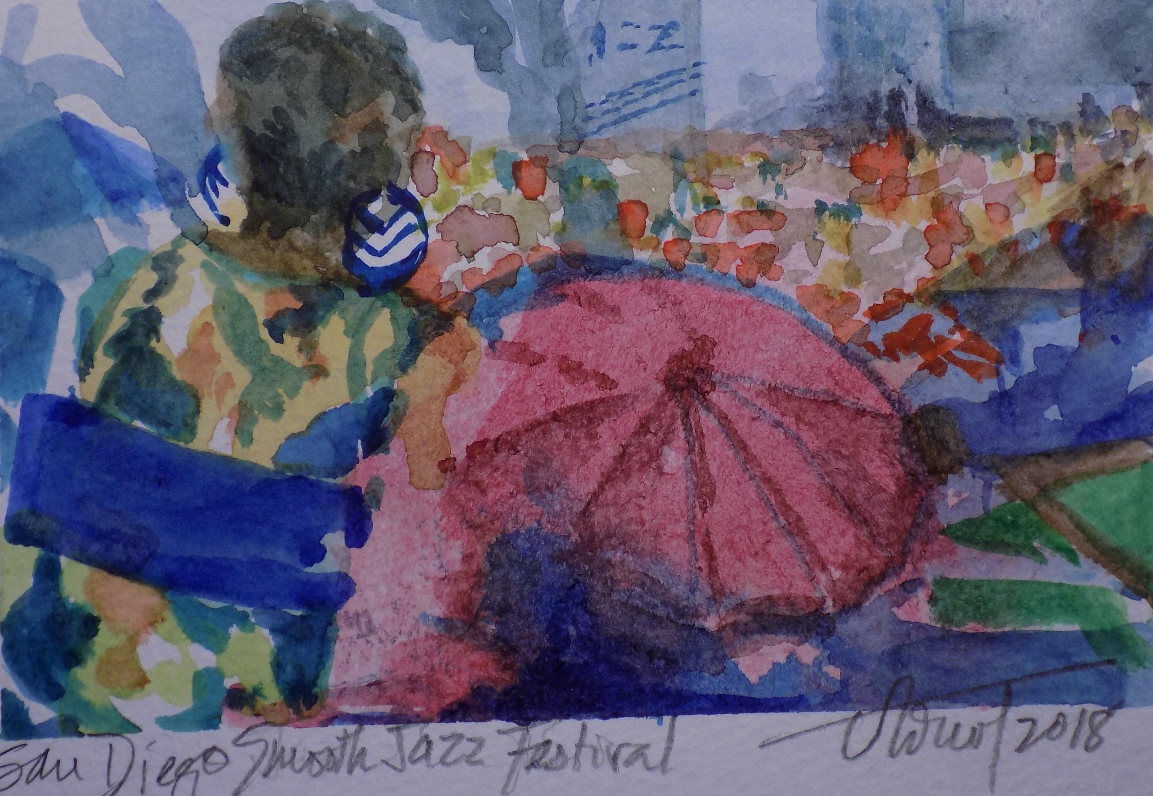 Smooth Jazz Umbrella - Arnot