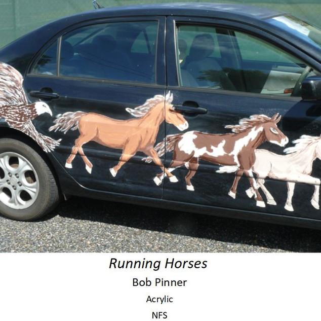 Running Horses - Bob Pinner