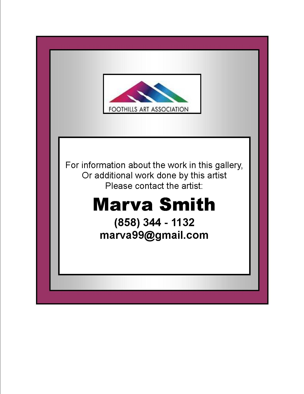 Marva Smith