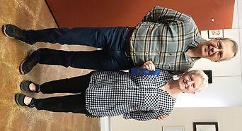1st Ann Schwartzwald with Gary Dyak.jpg