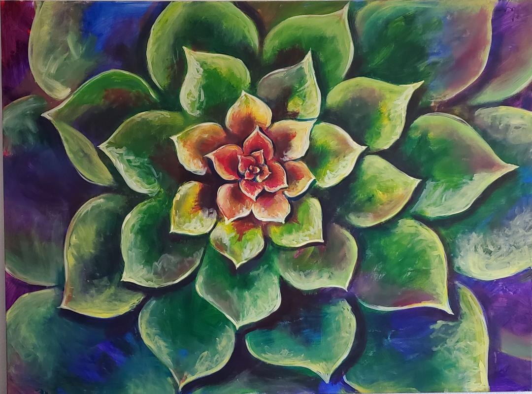 Psychedelic Succulent - Toliver