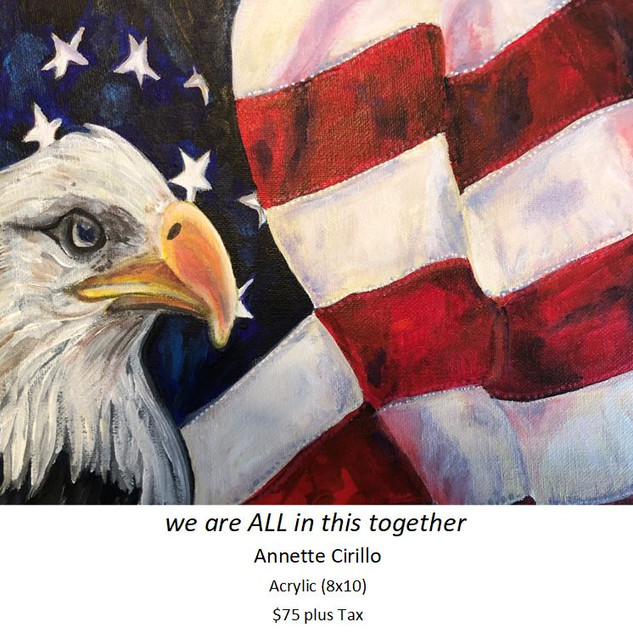 we are  ALL in this together - Annette C