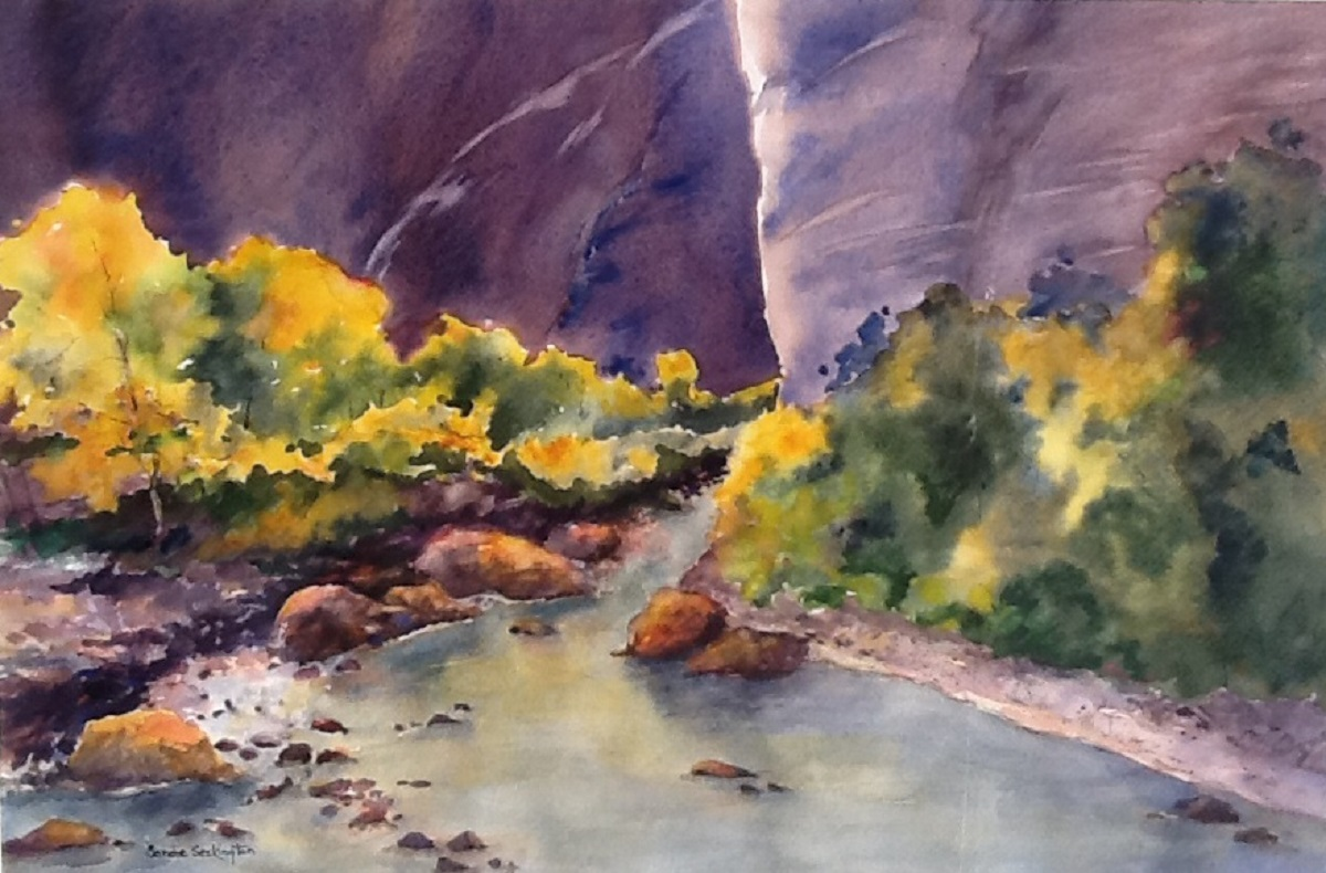 Autumn in Canyon de Chelly - Seckinton