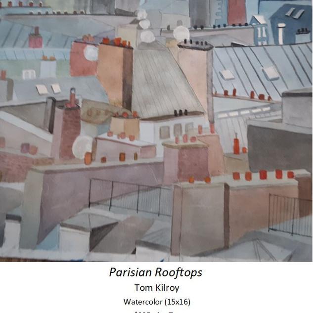 Parisian Rooftops  - Tom Kilroy
