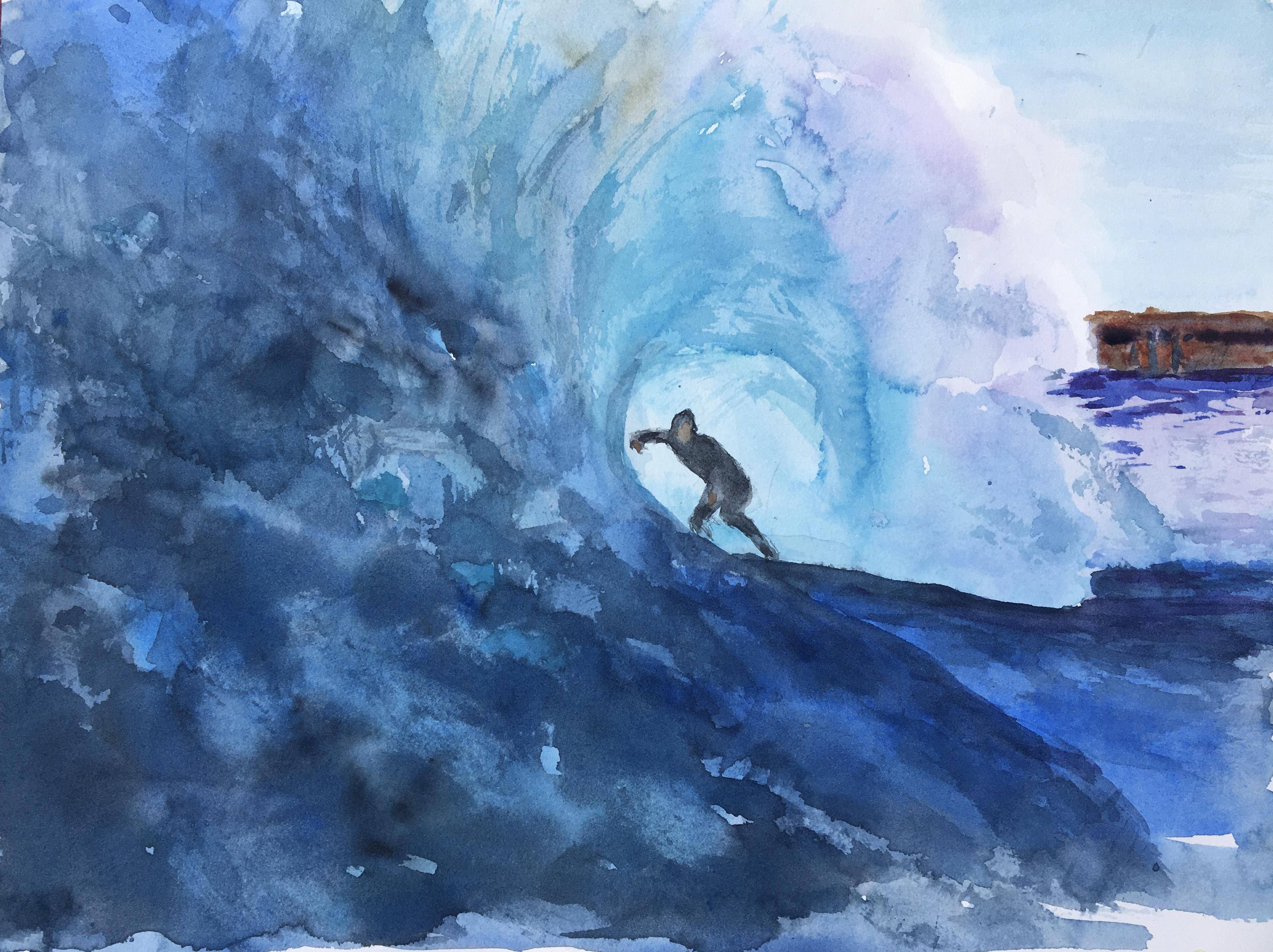 Surfer -Scriba