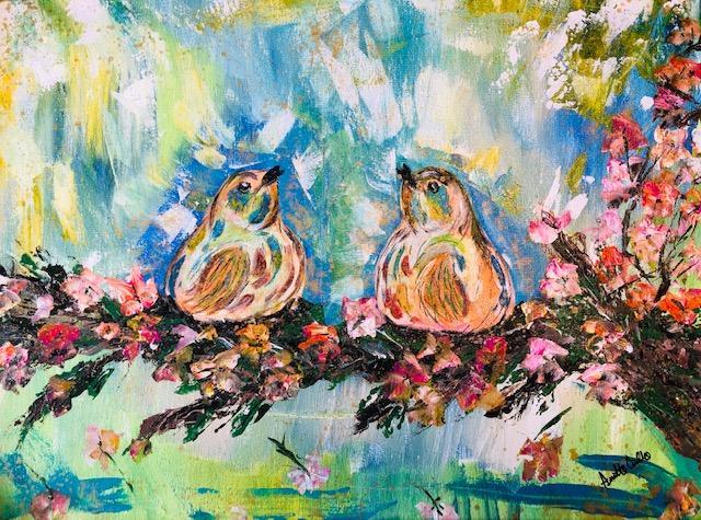 Spring Love Birds - Cirillo