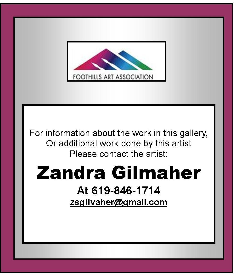 Zandra Gilmaher
