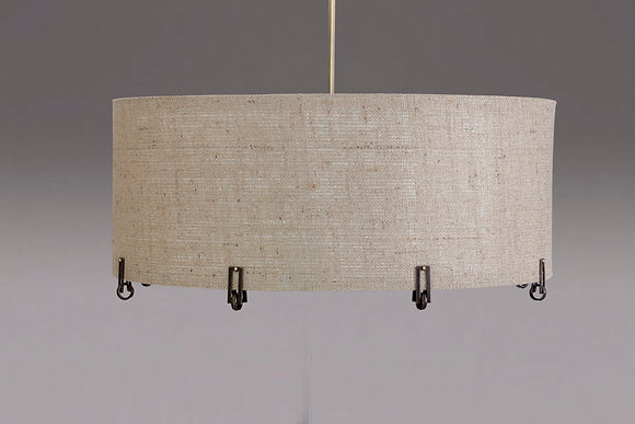 Ring in the New pendant shade