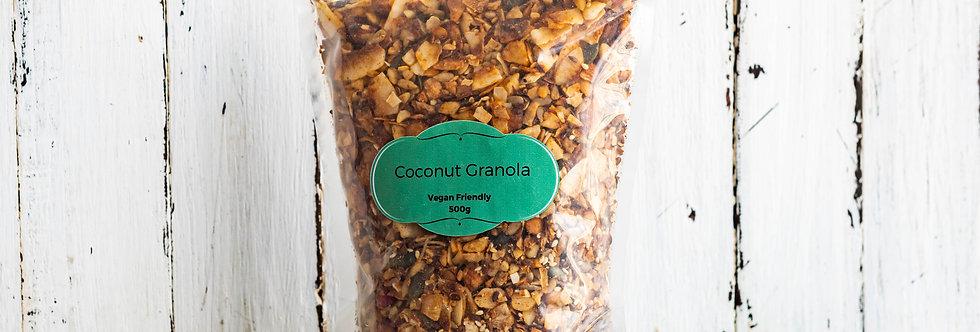 Vegan Coconut Granola