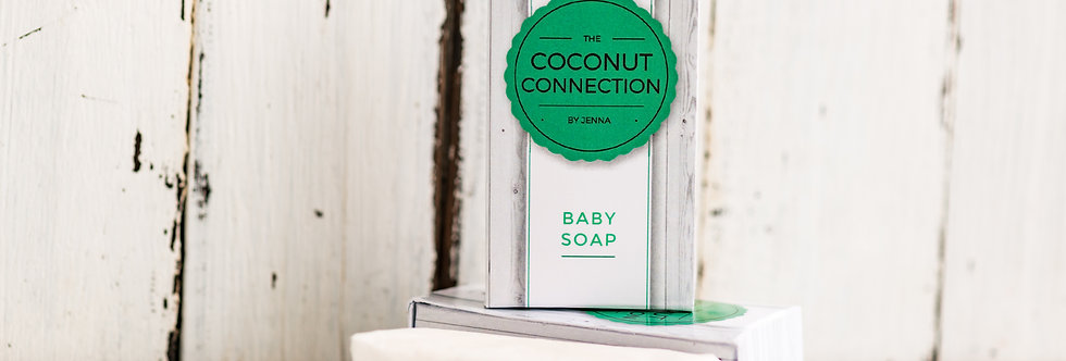 Coconut Oil Baby Bar Soap