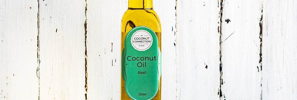 Basil infused Coconut Oil