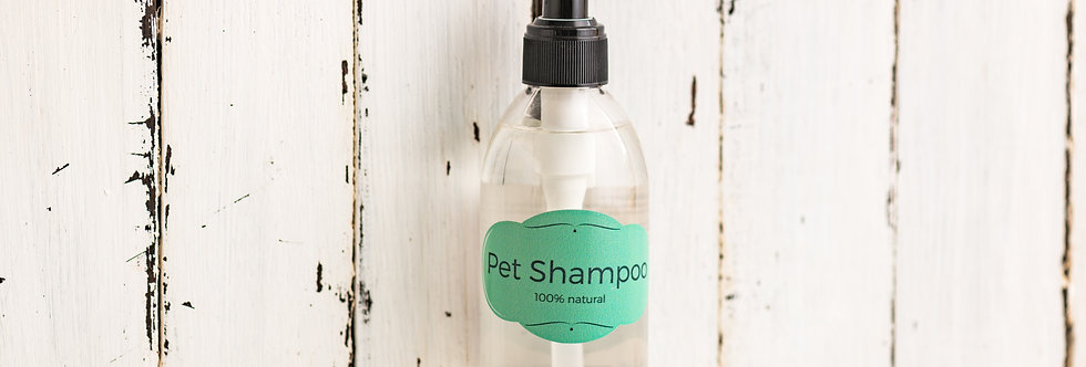 Coconut Oil Pet Shampoo