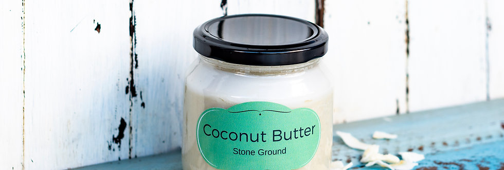 Stone Ground Coconut Butter