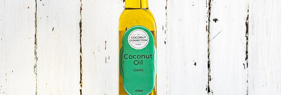 Garlic infused Coconut Oil