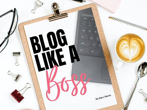 Blog Like A Boss Planner Sheets
