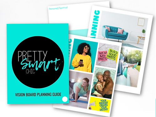 Pretty Smart Chic Vision Board Guide