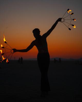 """Fire Performer"""